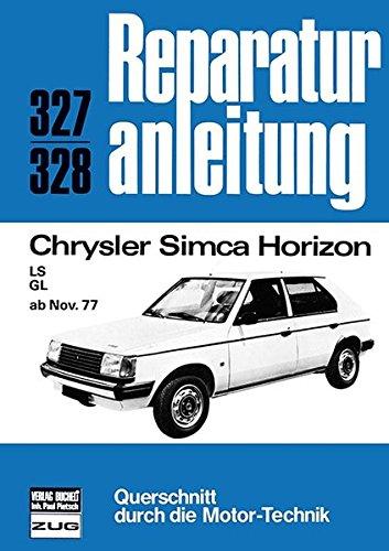 Chrysler Simca Horizon, LS, GL ab Nov.