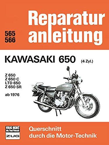 9783716814376: Kawasaki 650 (4 Zyl.) ab 1976: Z 650 / Z 650 C / LTD 650 / Z 650 SR
