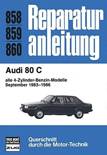 9783716817155: Audi 80 C 1983-1986