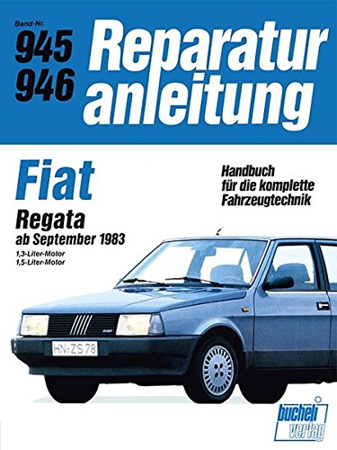 Fiat Regata 1,3/1,5-Liter-Motor ab Sept. 1983
