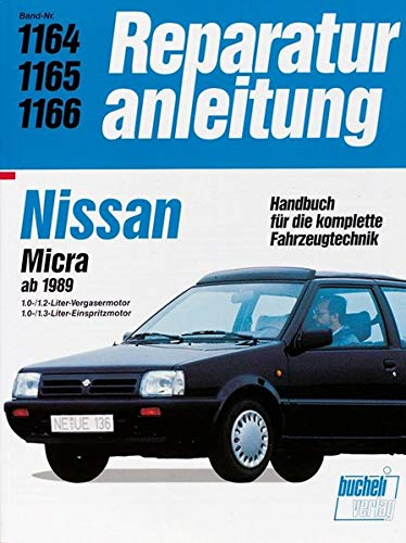 Nissan Micra ab 1989: Serie K10 - Vergaser / Serie K11 - Einspritzung. 1.0-/1.2-Liter-Vergasermotor...