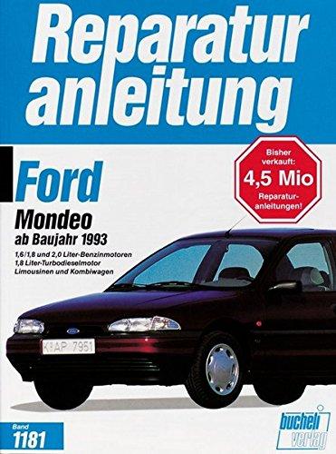 9783716818800: Ford Mondeo ab Baujahr 1993.