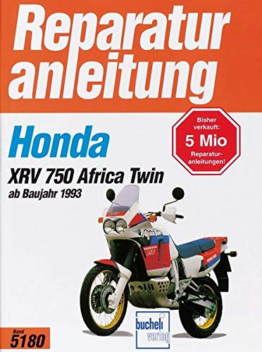 Honda XRV 750 Africa Twin ab Baujahr 1993. Reparaturanleitung Band 5180.