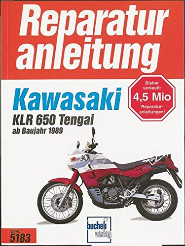 9783716818879: Kawasaki KLR 650 Tengai ab '89