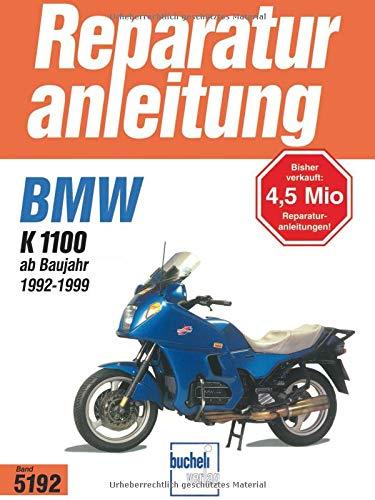 9783716819012: BMW K 1100 ab Baujahr 1992: Reparaturanleitung