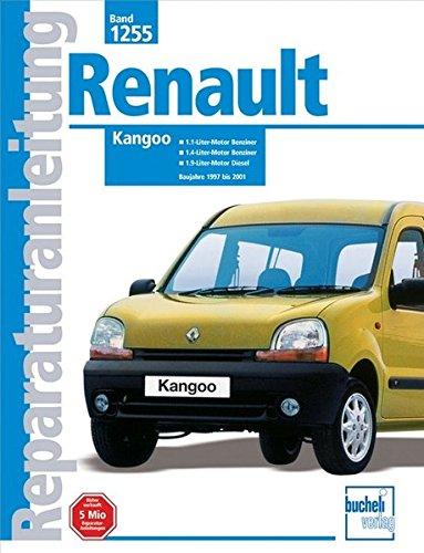 Renault Kangoo: 1.1- und 1.4-Liter-Benzinmotor. 1.9-Liter-Dieselmotor, auch: Russek, Peter