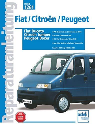 9783716820278: Fiat Ducato / Citroën Jumper / Peugot Boxer. Band 1261. Reparaturanleitung
