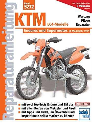 9783716820865: Reparaturanleitung (Band 5272): KTM LC4-Modelle. Enduros und Supermotos