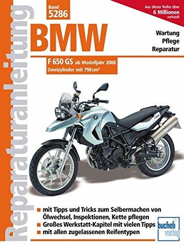 bmw f650gs 1993 1999 reparaturanleitung