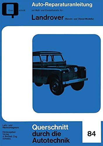 9783716821916: Landrover (Benzin- und Diesel-Modelle)