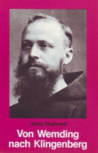 Von Wemding nach Klingenberg: Siegmund, Georg