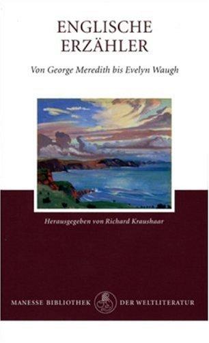 9783717511168: Englische Erz�hler von George Meredith bis Evelyn Waugh