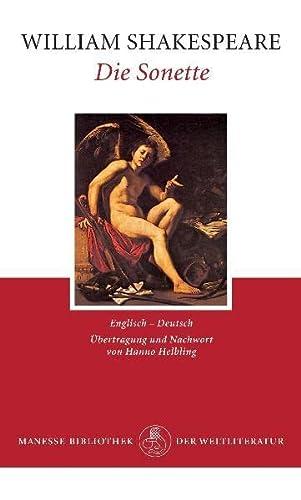 9783717516484: Die Sonette (Manesse Bibliothek der Weltliteratur)