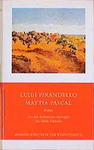 9783717518709: Mattia Pascal