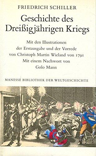 9783717580485: Geschichte des Dreissigjährigen Kriegs (Manesse Bibliothek der Weltgeschichte)