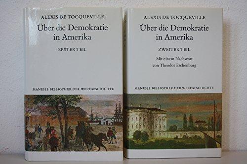 9783717581062: Über die Demokratie in Amerika: 2 Bände