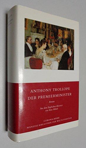 9783717581802: Der Premierminister. Roman