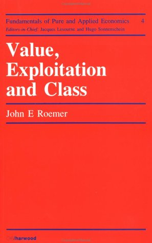 9783718602780: Value Explotation And Class (Fundamentals of Pure and Applied Economics)