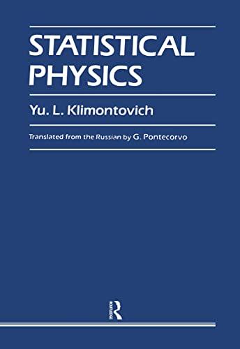 9783718603237: Statistical Physics