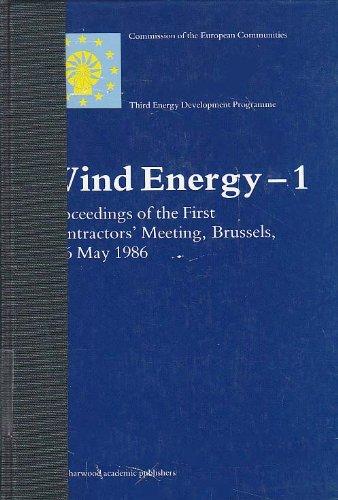 Wind Energy, 1 (Wind Energy, Vol 1): Van Der Voort