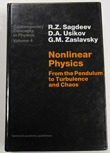 9783718648283: Nonlinear Physics (Contemporary Concepts in Physics)