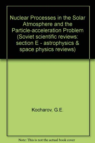 Nuclear Process in the Solar Atmosphere and: Kocharov, G. E.