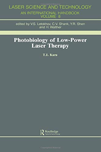 9783718649709: Photobiology Of Low-Power Lase