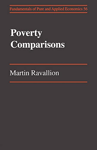 9783718654024: Poverty Comparisions (Fundamentals of Pure & Applied Economics)