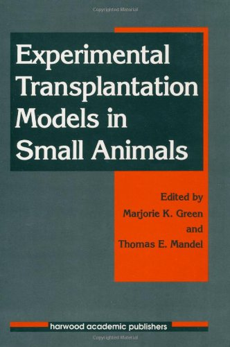 9783718655236: Experimental Transplantation Models in Small Animals