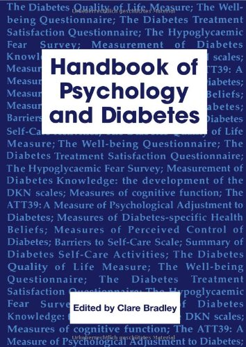 9783718655625: Handbook of Psychology and Diabetes: A Guide to Psychological Measurement in Diabetes Research and Practice