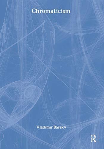 9783718657049: Chromaticism