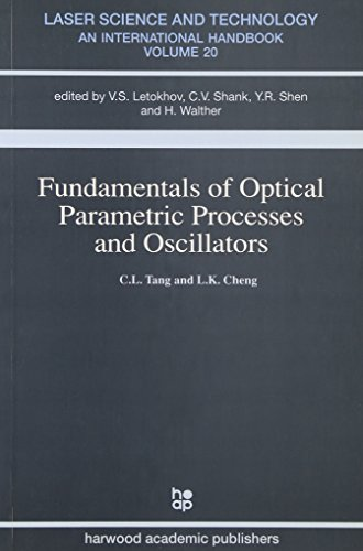 9783718658183: Fundamentals of Optical Parametric Processes and Oscillations (Laser Science & Technology)