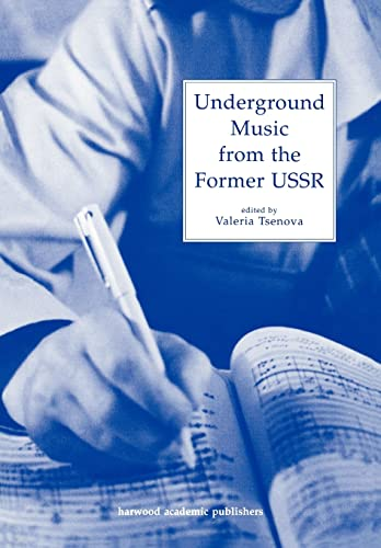 9783718658213: Underground Music from the Former USSR