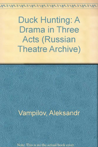 9783718658398: Duck Hunting (Russian Theatre Archive)