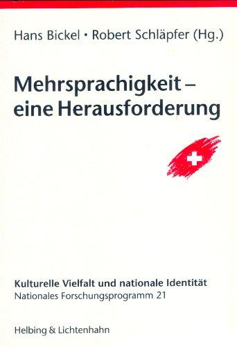 9783719013349: Mehrsprachigkeit - eine Herausforderung