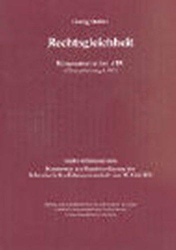Rechtsgleichheit: Georg Müller