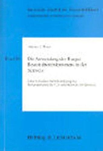 Die Anwendung des Haager Beweisübereinkommens in der Schweiz: Unter besonderer Berücksichtigung der...