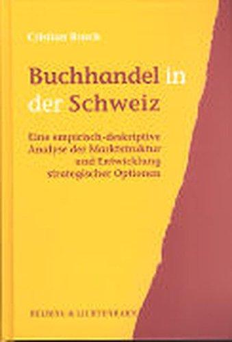 Buchhandel in der Schweiz: Cristian Rusch