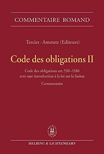 Code des obligations II: Code des obligations art. 530-1186; Loi sur les bourses art. 22-33; Avec ...