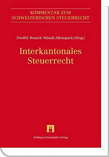 Interkantonales Steuerrecht: Eliane Fischer