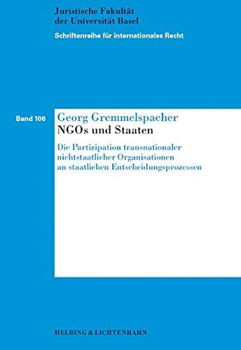NGOs und Staaten: Georg Gremmelspacher
