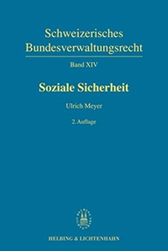9783719025083: Schweizerisches Bundesverwaltungsrecht / Soziale Sicherheit