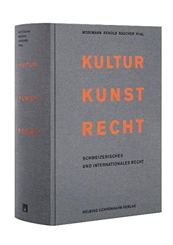 Kultur Kunst Recht: Peter Mosimann