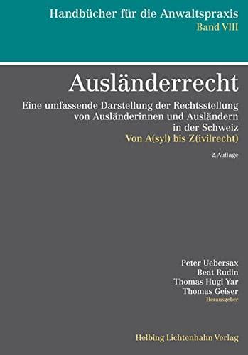 Ausländerrecht: Peter Uebersax