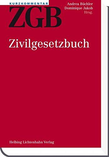 Kurzkommentar ZGB: Andrea Büchler
