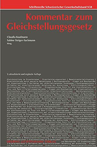 Kommentar zum Gleichstellungsgesetz: Claudia Kaufmann