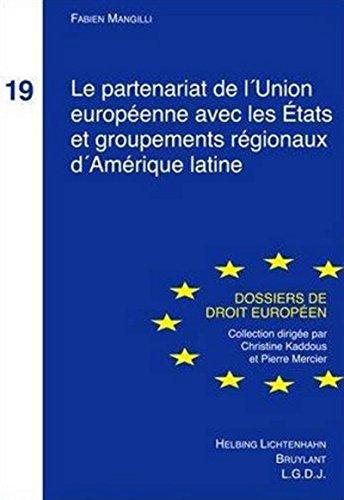 Partenariat de l'Union Europeenne: Fabien Mangilli