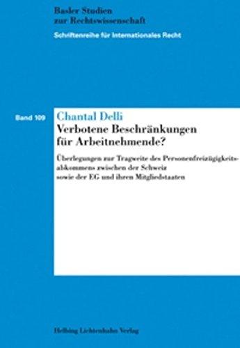 Verbotene Beschränkungen für Arbeitnehmende?: Chantal Delli