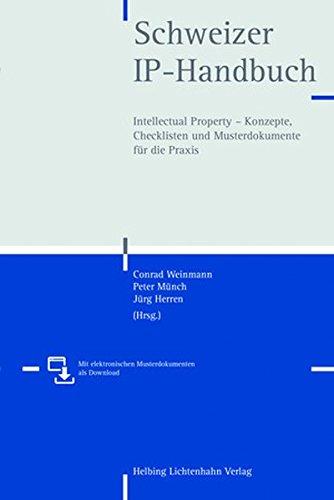 Schweizer IP-Handbuch: Conrad Weinmann