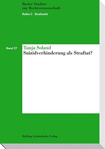 Suizidverhinderung als Straftat?: Tanja Soland